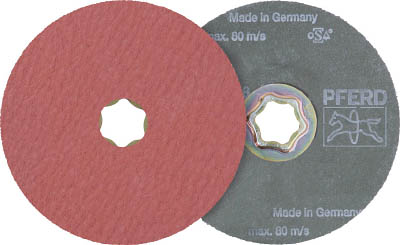 PFERD ディスクペーパー コンビクリック酸化アルミナ COOLタイプ(25枚) 836194 7653271