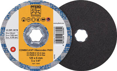 PFERD ディスクペーパー コンビクリック不織布ディスク PNER(5枚) 948194 7653425