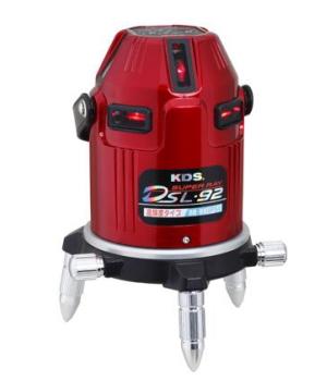 KDS:DSL-92S オートラインレーザー 本体のみ 高輝度電子整準タイプ K782210