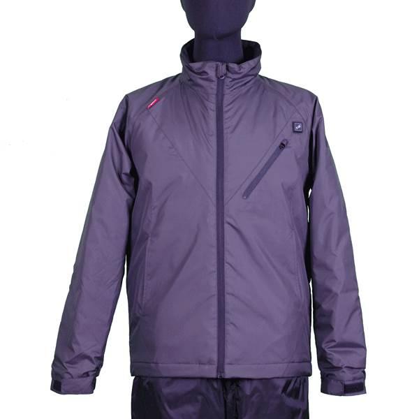 【代引不可】VIGUEUR(ヴィガール):日本製ヒーター付き暖房服長袖ジャケット VG-2011-BK-S
