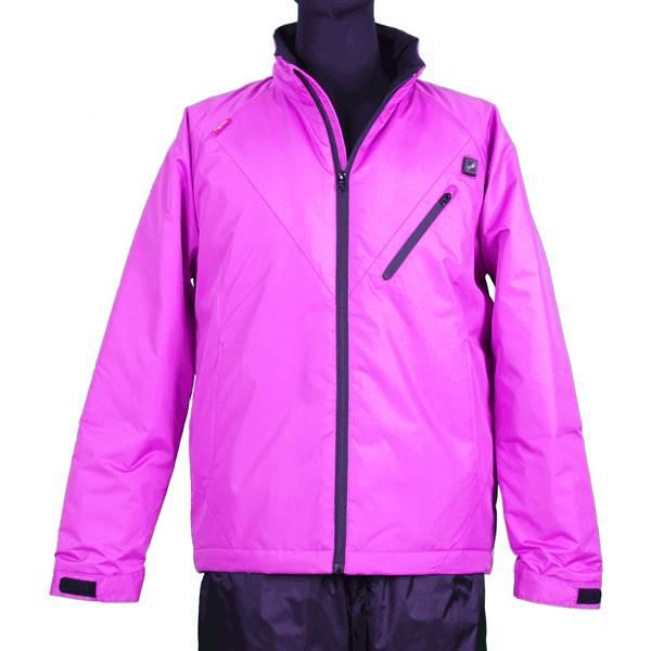 【代引不可】VIGUEUR(ヴィガール):日本製ヒーター付き暖房服長袖ジャケット VG-2011-PK-S