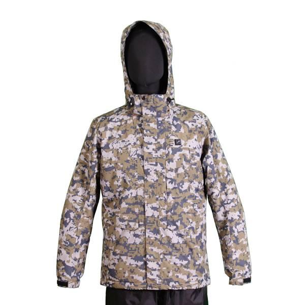 【代引不可】VIGUEUR(ヴィガール):日本製ヒーター付き暖房服防水防寒ジャケット VG-2021-CAM-L