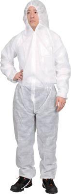 TRUSCO 保護服(1層タイプ) XXLサイズ 50着入り(1箱) TPSBXXL 7630387