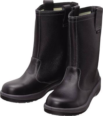 シモン 安全靴 半長靴 7544黒 25.5cm(1足) 7544N25.5 1578685