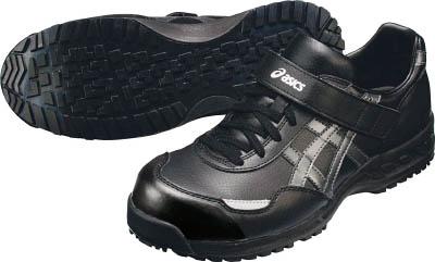 アシックス ウィンジョブ51S ブラックXガンメタル 24.0cm(1足) FIS51S.907524.0 4221851