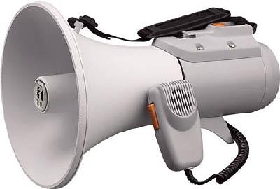 TOA 中型ショルダー型メガホン ホイッスル音付き(1台) ER2115W 2904594