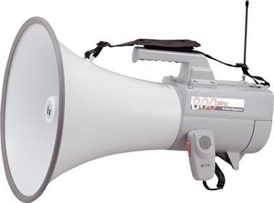 TOA ワイヤレスメガホン ホイッスル音付き(1台) ER2830W 2904608