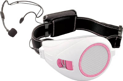 TOA ハンズフリー拡声器(ピンク)(1台) ER1000PK 4443861