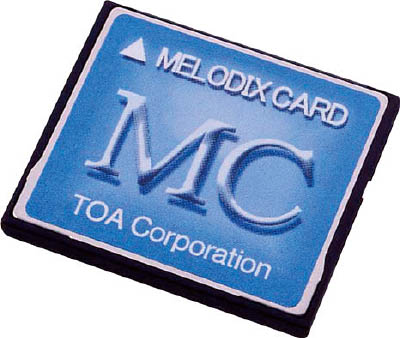 TOA メロディクスカード店舗向け(1台) MC1030 4485327