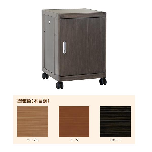 【代引不可】IDEAL(摂津金属工業):Holz ホルツ 木目調キャビネットラック エボニー HOLZ-14U5760EB