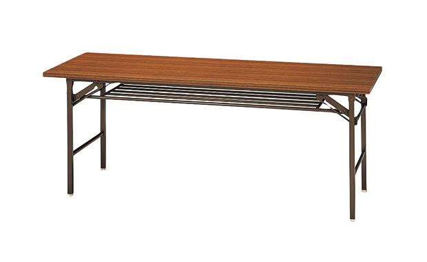 【代引不可】ナイキ:会議用テーブル 折りたたみテーブル 1845T-T