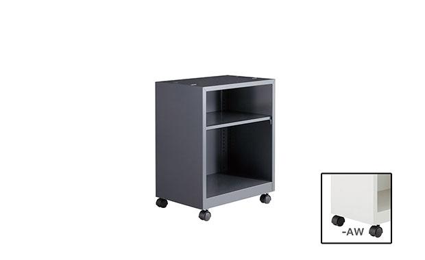 【代引不可】ナイキ:オフィスアクセサリ 下置棚 DUS02-AW