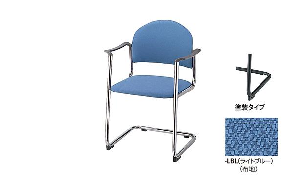 【代引不可】ナイキ:会議用チェアー E166FB-LBL