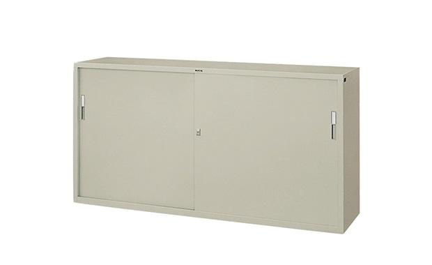 ナイキ:壁面収納庫 書庫・キャビネット HS63J-AW 引違い書庫 スモール戸 オフィス家具 DIY 工具