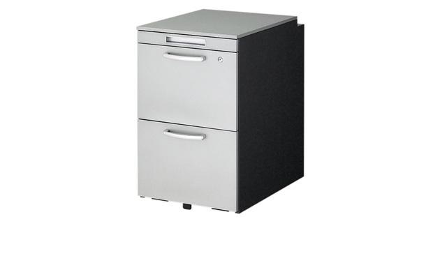 ナイキ:事務用デスク WAKEテーブルシステム ワゴン TR046HC-SVD