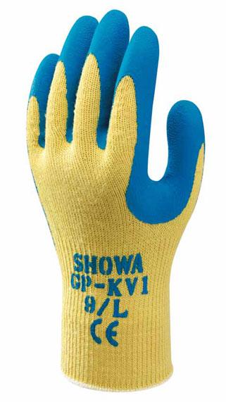 【代引不可】ショーワグローブ:[業務用]耐切創製手袋 GP-KV1 Mサイズ 10双1パック