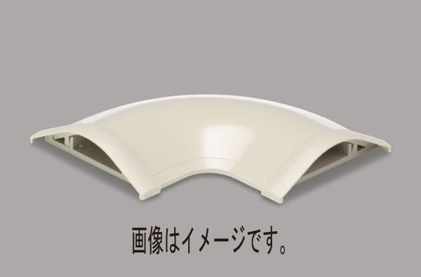 マサル工業:ガードマンR型付属品 平面マガリ 7号 10個入 ブラウン GAM76-10