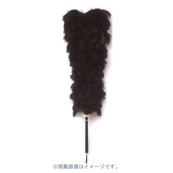 【代引不可】KHP:オーストリッチ毛バタキ No.302 全長(約)126cm KITA-302