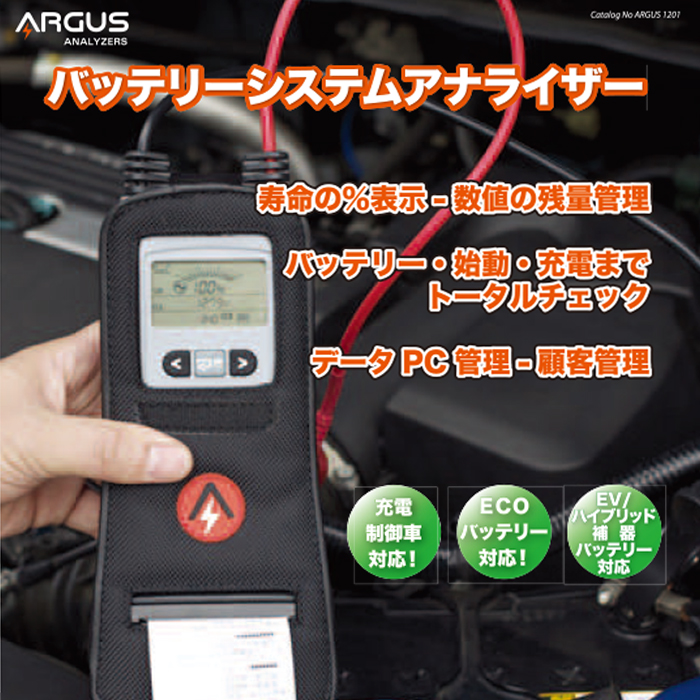 ARGUS(アーガス):バッテリーシステムアナライザー AA1000RP