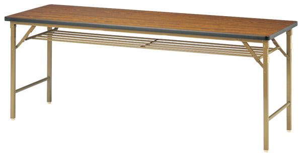 【代引不可】【受注生産品】ニシキ工業:折りたたみテーブル DKT-1845S-アイボリー