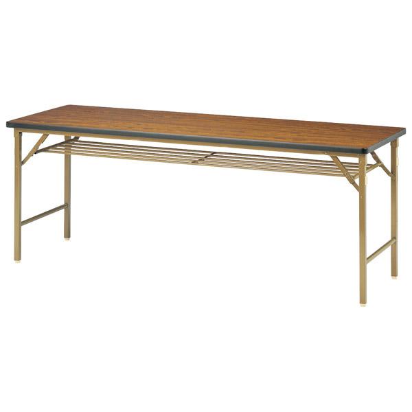 【後払い不可】【代引不可】【受注生産品】ニシキ工業:折りたたみテーブル DKT-1845S-ローズ