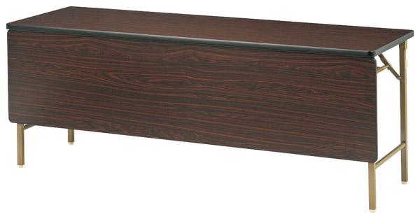 【後払い不可】【代引不可】【受注生産品】ニシキ工業:折りたたみテーブル DKT-1860PS-チーク