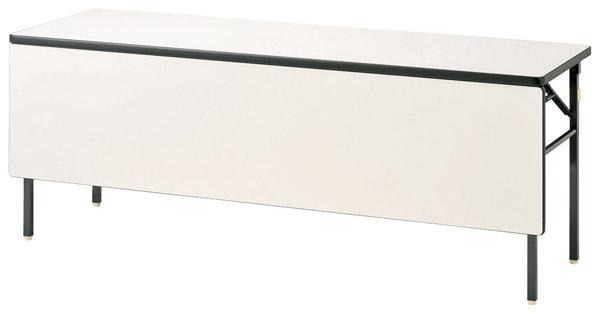 【代引不可】【受注生産品】ニシキ工業:折りたたみテーブル KBR-1845PS-アイボリー