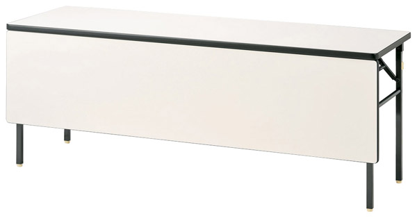 【後払い不可】【代引不可】【受注生産品】ニシキ工業:折りたたみテーブル KBR-1845PT-アイボリー
