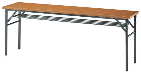 【後払い不可】【代引不可】【受注生産品】ニシキ工業:折りたたみテーブル KBR-1860S-チーク