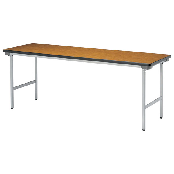 【後払い不可】【代引不可】【受注生産品】ニシキ工業:折りたたみテーブル KU-1545N-ローズ