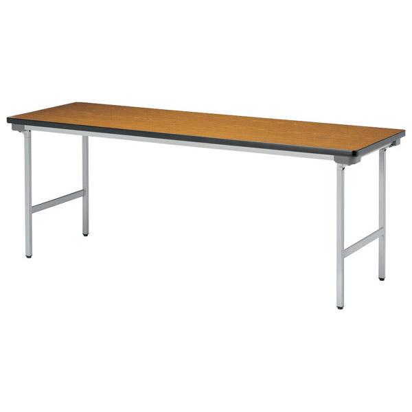 【代引不可】【受注生産品】ニシキ工業:折りたたみテーブル KU-1560N-アイボリー