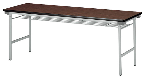 【代引不可】【受注生産品】ニシキ工業:折りたたみテーブル KU-1845A-アイボリー