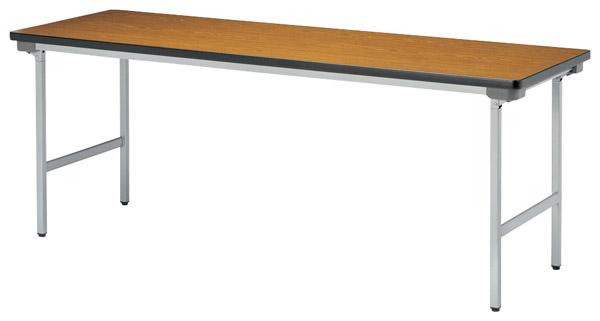 【代引不可】【受注生産品】ニシキ工業:折りたたみテーブル KU-1845N-チーク