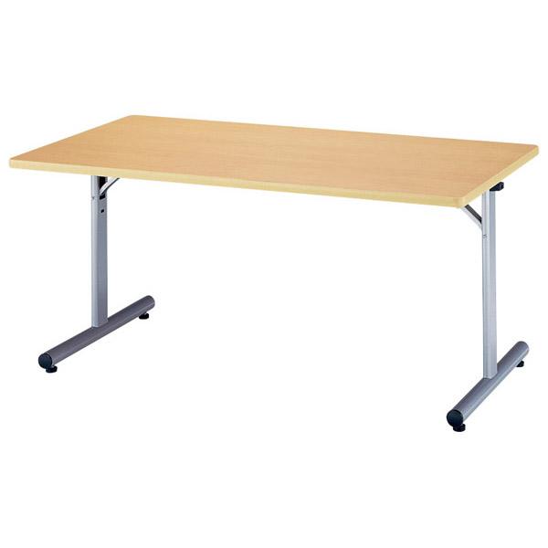 【後払い不可】【代引不可】【受注生産品】ニシキ工業:折りたたみテーブル MTJ-1575K-ニューグレー