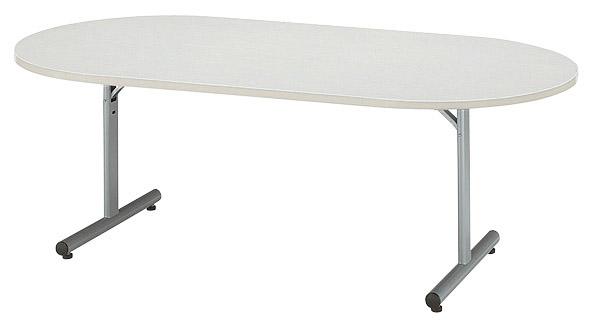 【後払い不可】【代引不可】【受注生産品】ニシキ工業:折りたたみテーブル MTJ-1890R-ニューグレー