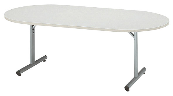 【代引不可】【受注生産品】ニシキ工業:折りたたみテーブル MTJ-1890R-アイボリー