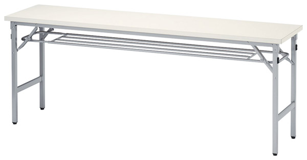 【後払い不可】【代引不可】【受注生産品】ニシキ工業:折りたたみテーブル SAT-1545T-アイボリー