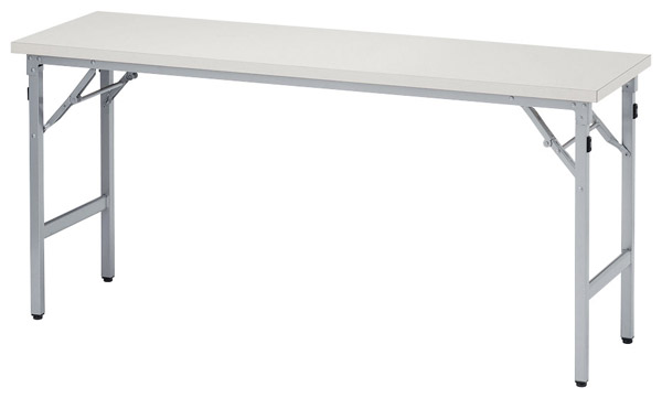 【後払い不可】【代引不可】【受注生産品】ニシキ工業:折りたたみテーブル SAT-1560TN-ニューグレー