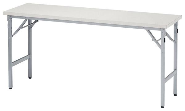 【後払い不可】【代引不可】【受注生産品】ニシキ工業:折りたたみテーブル SAT-1560TN-アイボリー