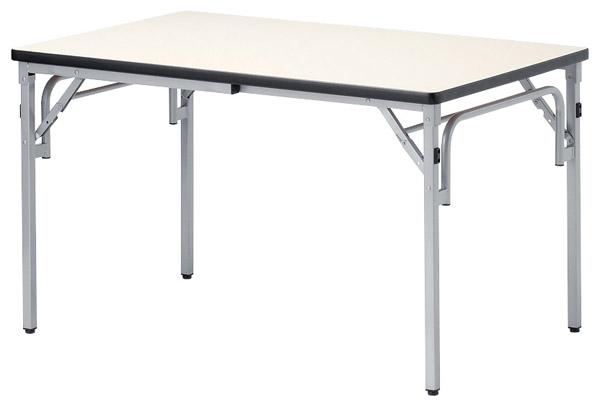 【代引不可】【受注生産品】ニシキ工業:折りたたみテーブル TGS-0909-アイボリー