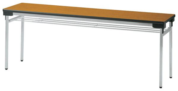 【代引不可】【受注生産品】ニシキ工業:折りたたみテーブル UW-1545-チーク