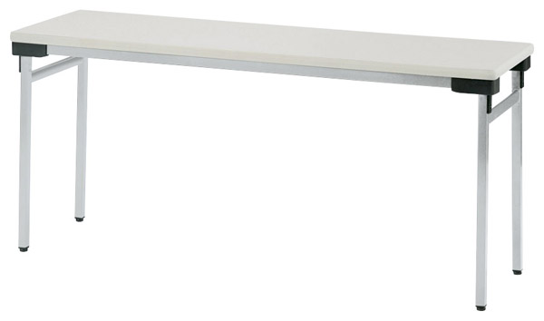 【後払い不可】【代引不可】【受注生産品】ニシキ工業:折りたたみテーブル UW-1545N-アイボリー
