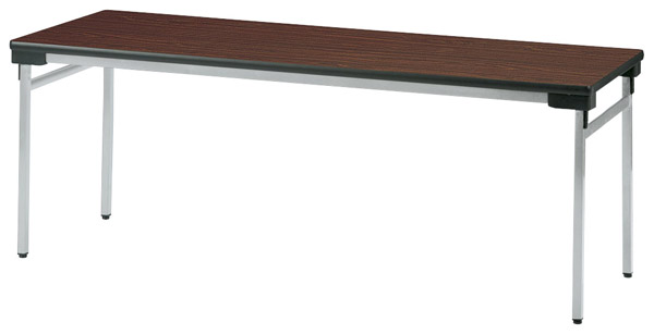 【代引不可】【受注生産品】ニシキ工業:折りたたみテーブル UW-1560AN-ニューグレー