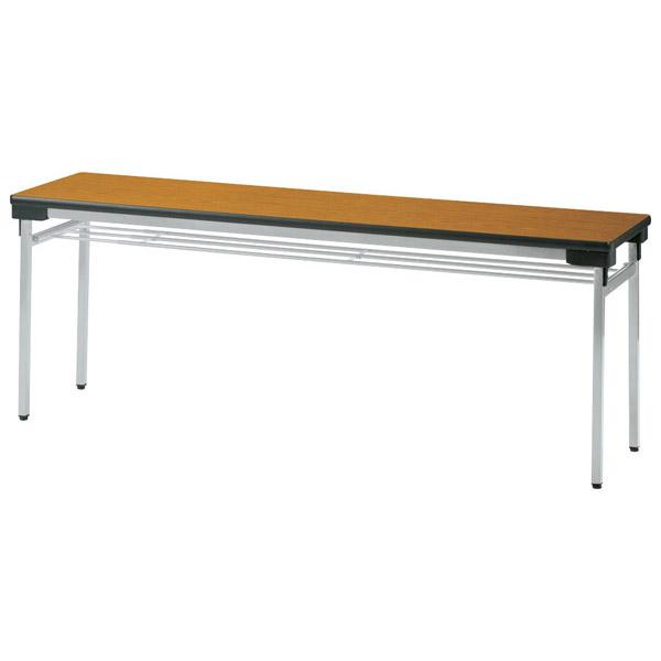 【代引不可】【受注生産品】ニシキ工業:折りたたみテーブル UW-1845A-ニューグレー