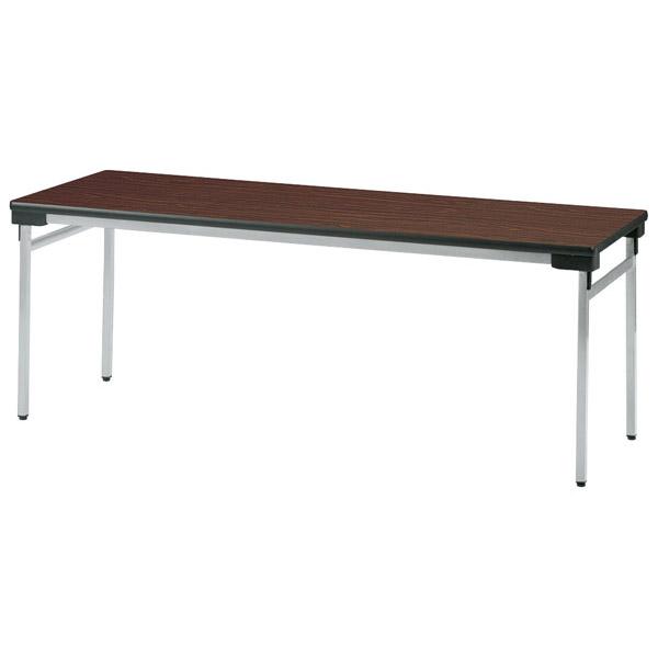 【後払い不可】【代引不可】【受注生産品】ニシキ工業:折りたたみテーブル UW-1860AN-ニューグレー