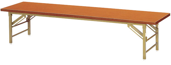 【代引不可】【受注生産品】ニシキ工業:折りたたみ座卓 ZT-1860S-チーク