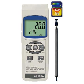 【超新作】 マザーツール:デジタル風速計 AM-4214SD:イチネンネット-DIY・工具