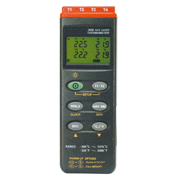 マザーツール:デジタルデータロガ温度計(4点式) MT-309