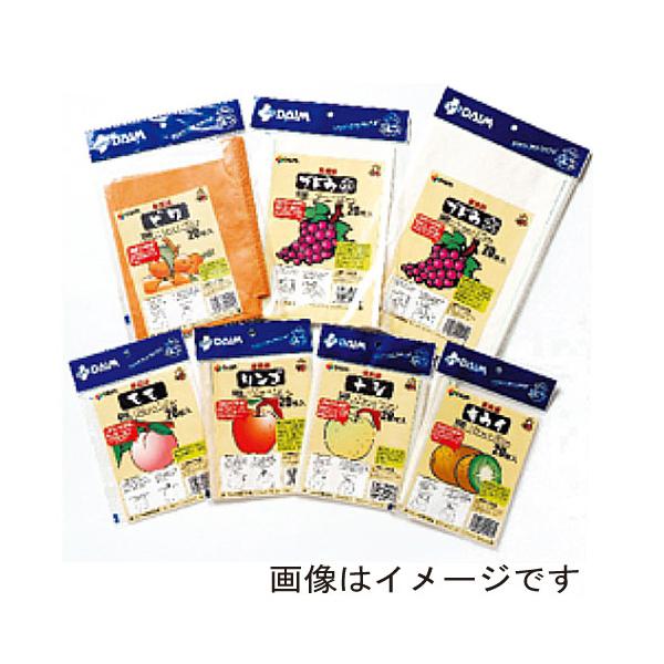 【代引不可】DAIM(第一ビニール)果実袋(100枚入りパック) モモ 11608