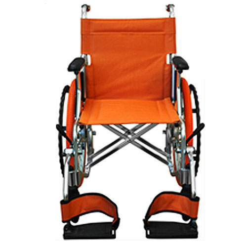 CHINON'S(チノンズ)カラーコンパクト車椅子[Palet] オレンジ palet-or